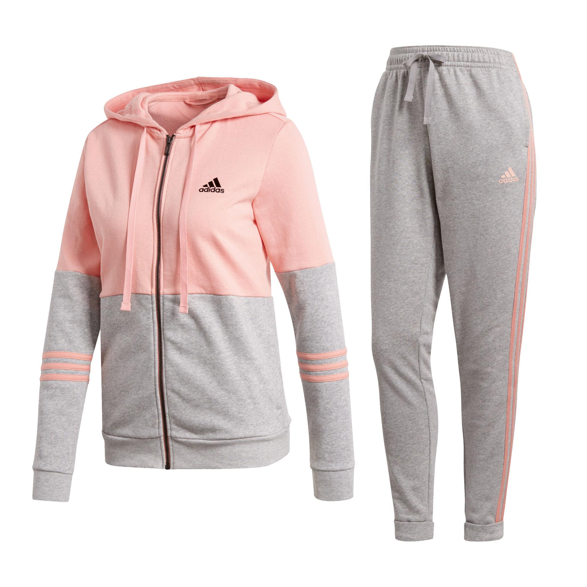 dfd97f3ffe buy adidas Co Energize Tracksuit Women - Pink, Lightgrey online ...