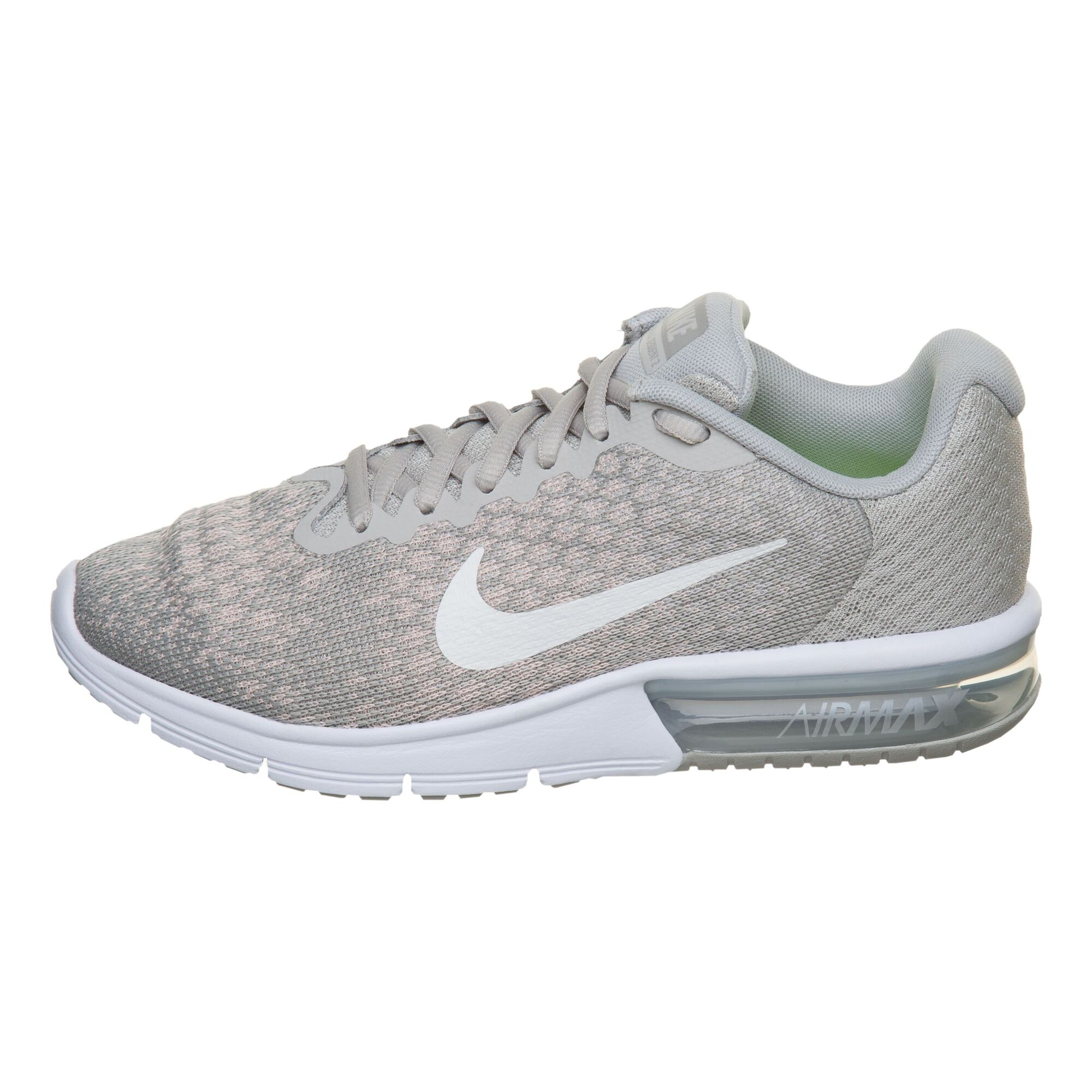 buy Nike Air Max Sequent 2 Neutral Running Shoe Women - Beige, White ... 3b68af8250