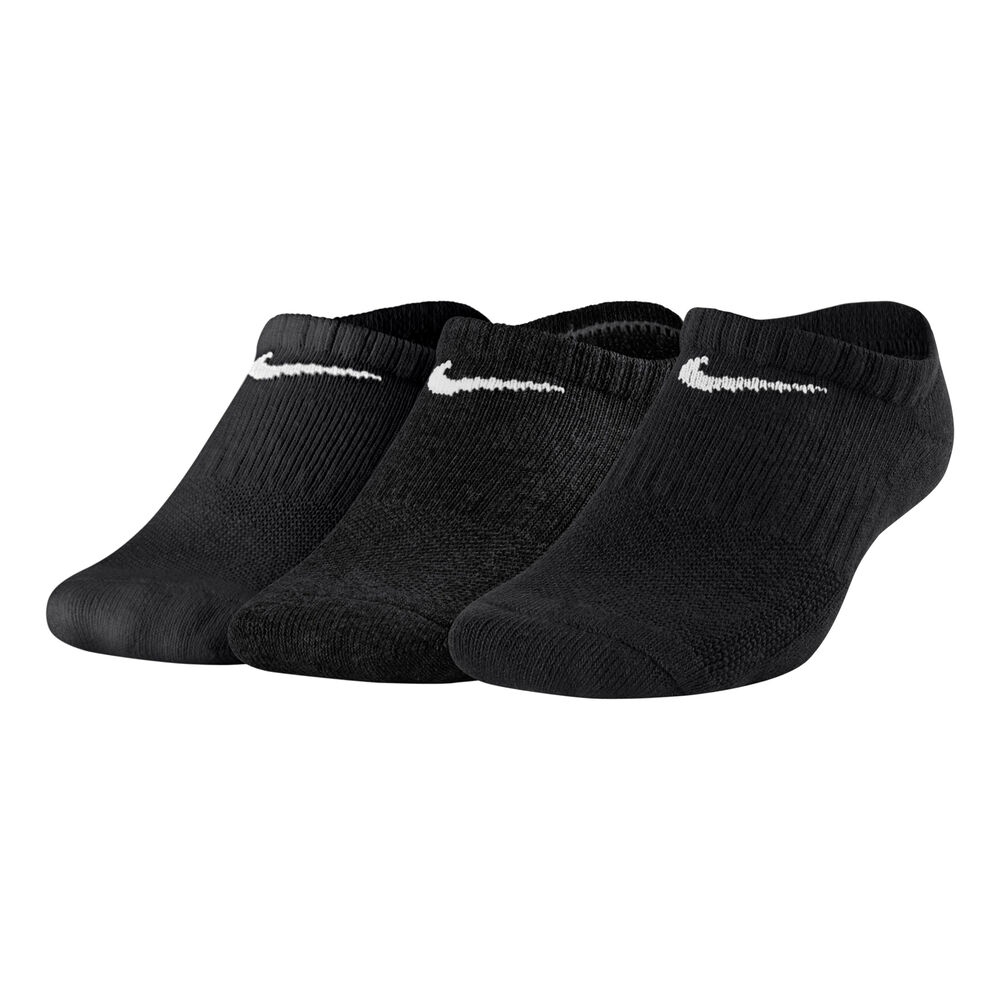 Everyday Cush No-Show Running Socks 3 Pack Kids