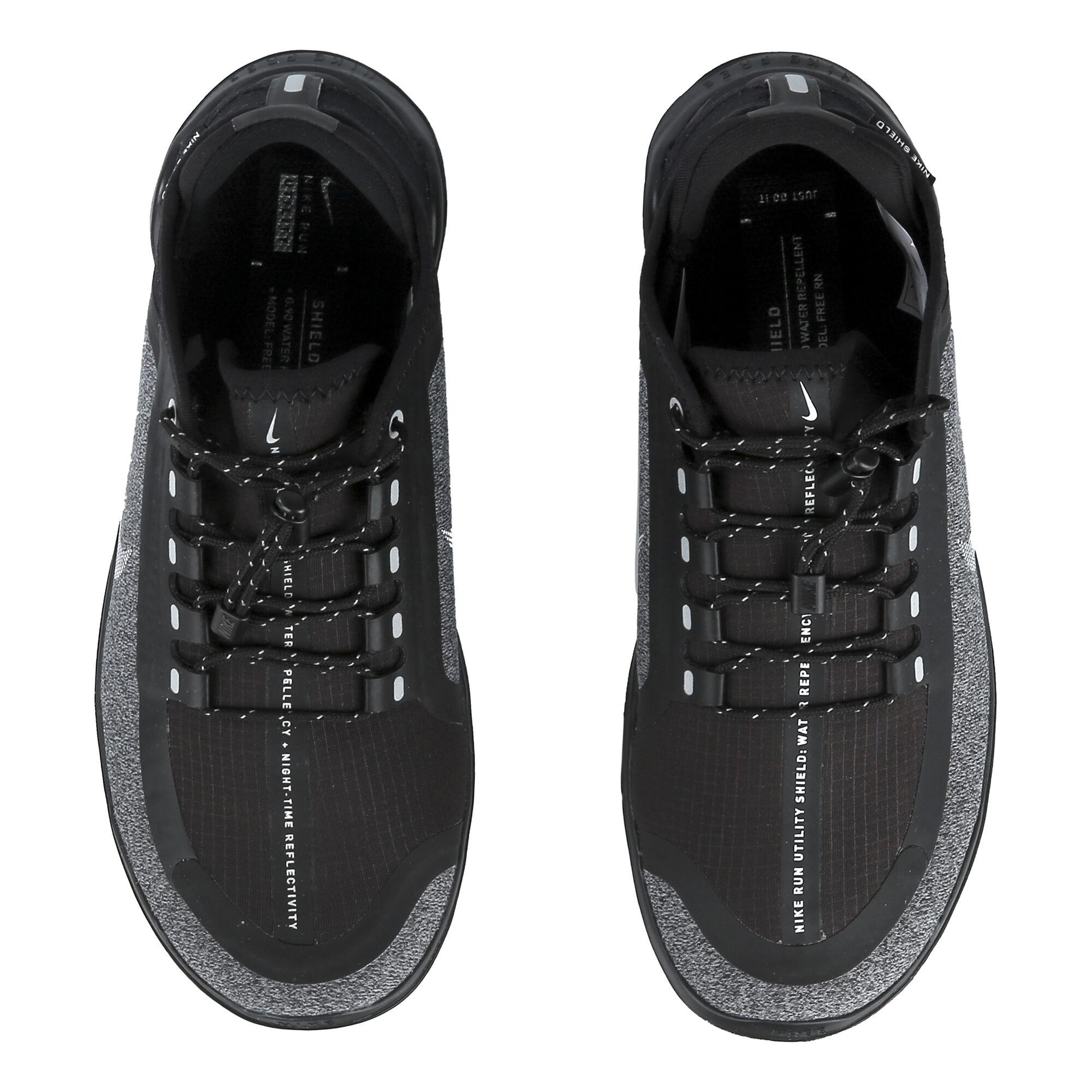 d87dfdffaea buy Nike Free Run 2018 Shield Natural Running Shoe Women - Black ...