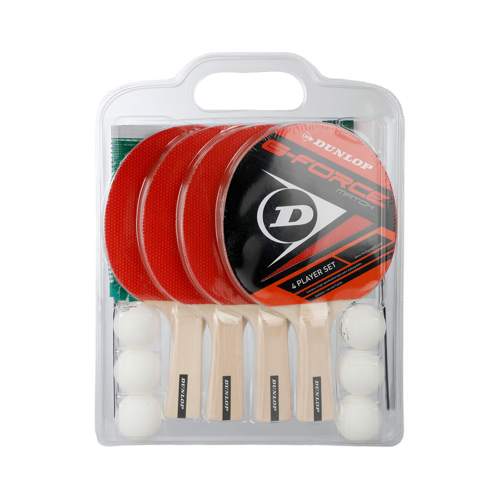Tischtennis G-Force Match 4 Player-Set Table Tennis Set