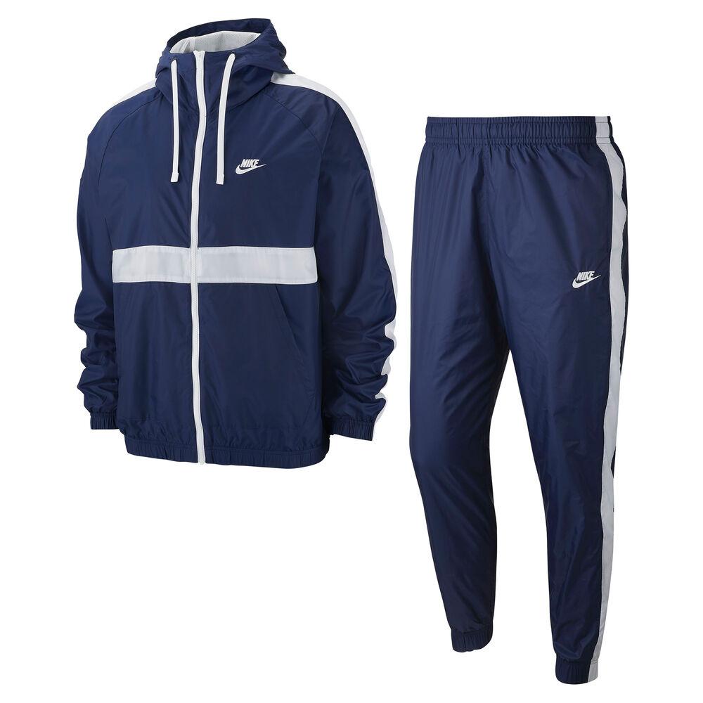 Sportswear Woven Hooded Tracksuit Men