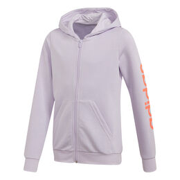 Essential Linear Full-Zip Hoody Girls