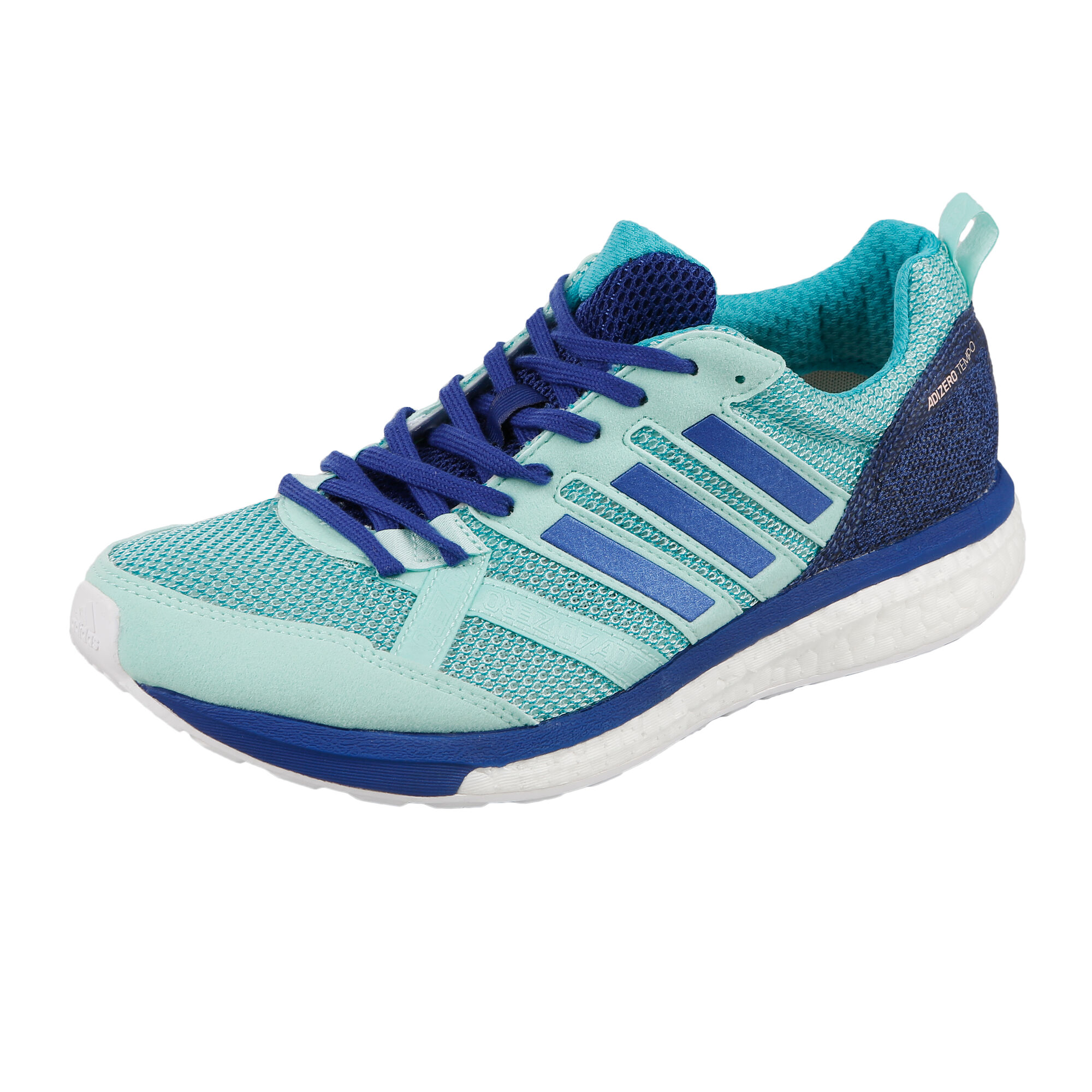 quality design d94b0 bf783 adidas Adizero Tempo 9 Competition Running Shoe Women - Mint, Blue