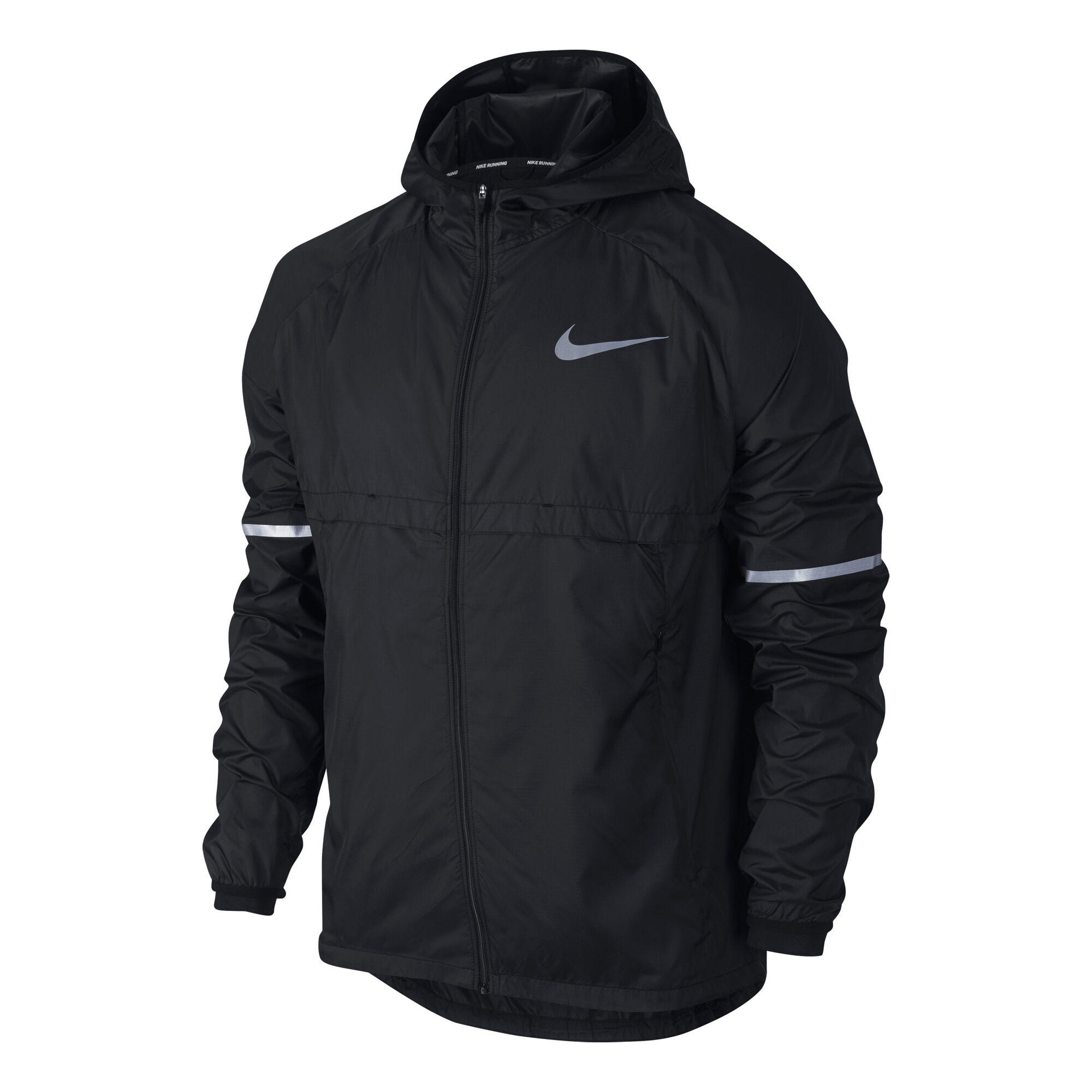 a6d40debaaa71 buy Nike Shield Running Jacket Men - Black