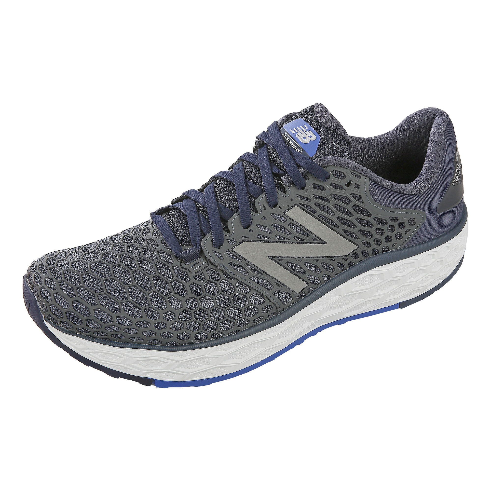 new concept 6d67e c0832 New Balance Fresh Foam Vongo V3 Stability Running Shoe Men - Dark Blue,  Black
