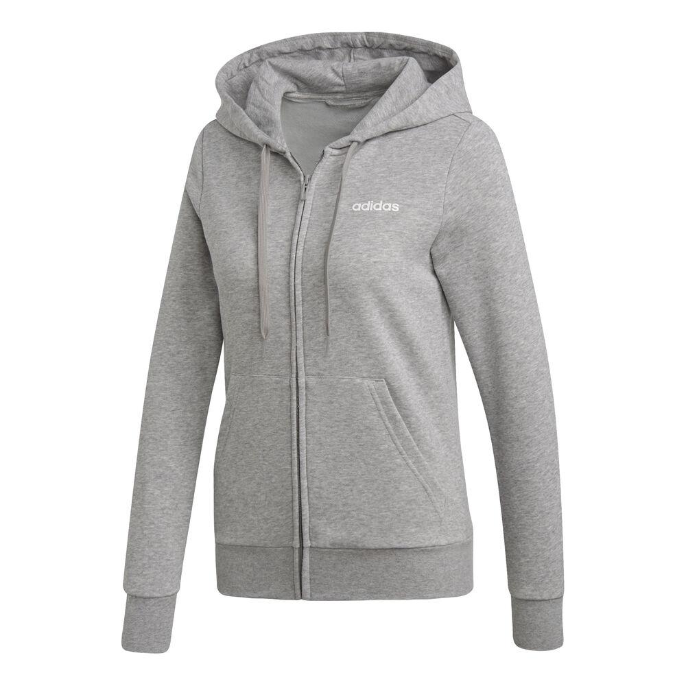 Essentials Plain Zip Hoodie Women