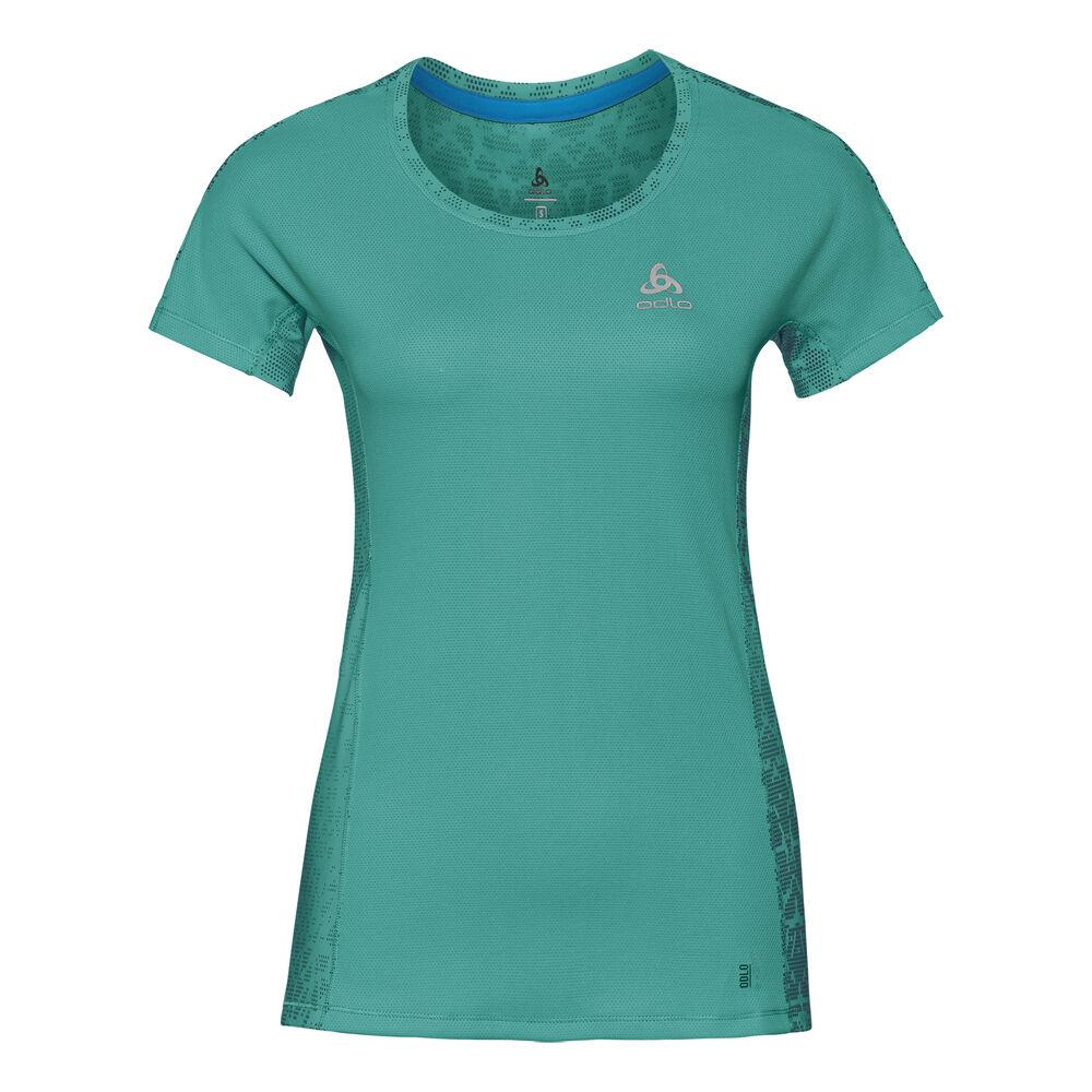 Crew Neck Omnius Print F-Dry T-Shirt Women