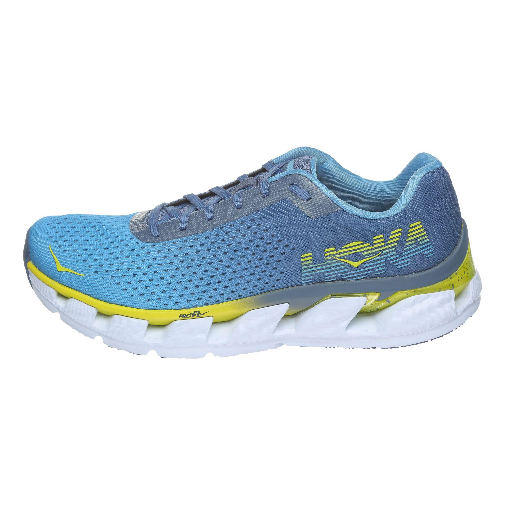 57b275296caff buy Hoka One One Elevon Neutral Running Shoe Men - Light Blue